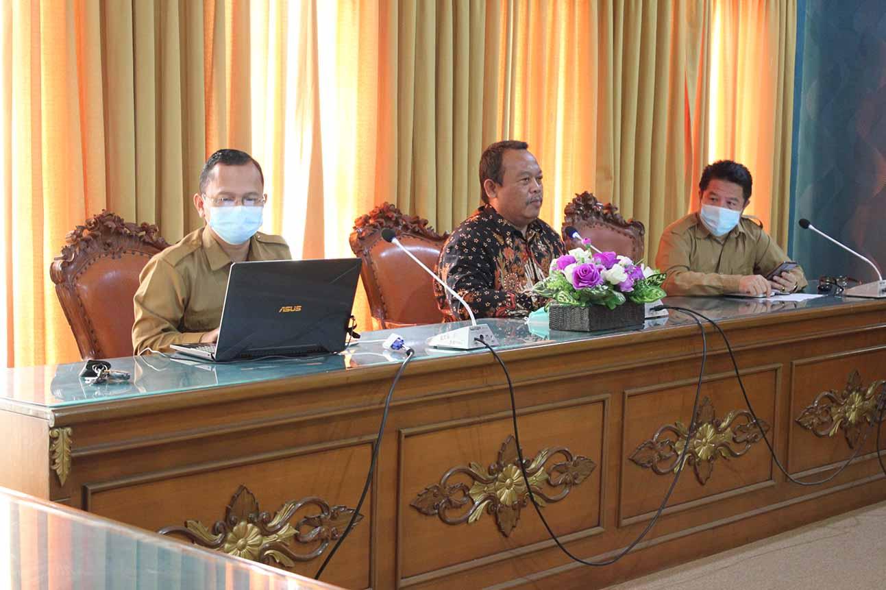 UTIPD UIN STS Jambi Mengikuti Rapat Koordinasi Sistem Penomoran Ijazah Nasional (PIN)