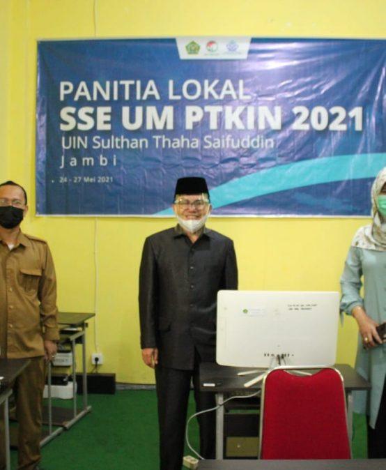 UIN Sutha Jambi Melaksanakan UM-PTKIN 2021, Jaring Lulusan Terbaik